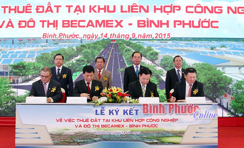 Khu công nghiệp và dân cư Becamex - Bình Phước: Đòn bẩy để Bình Phước phát triển nhanh và bền vững
