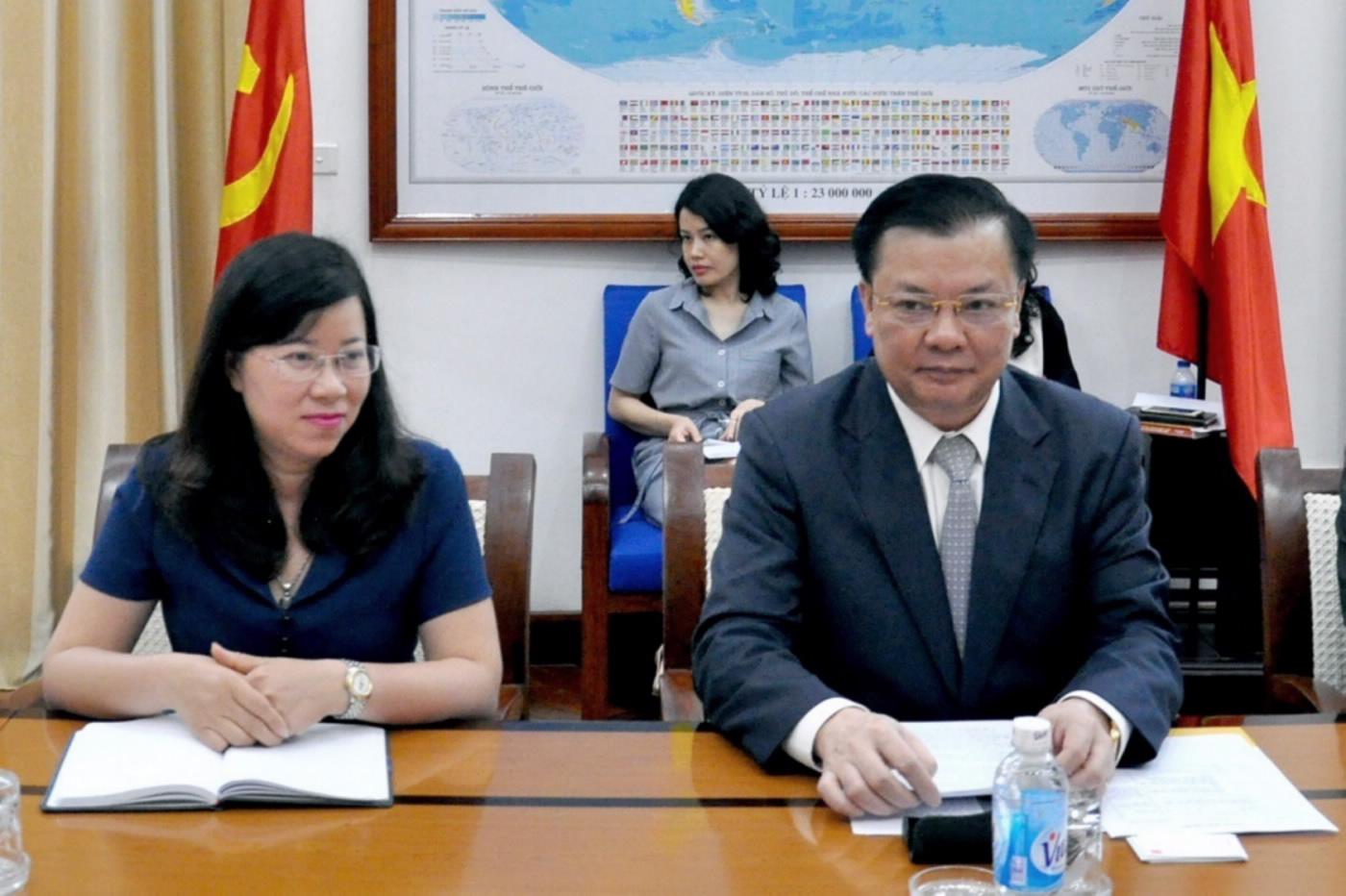 ACCA sẵn sàng hỗ trợ Bộ Tài chính hoàn thiện khuôn khổ pháp lý về kế toán, kiểm toán