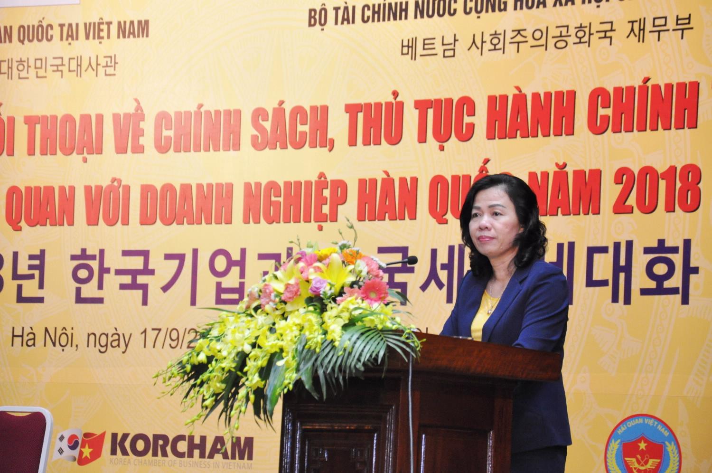 Bộ Tài chính đối thoại với DN Hàn Quốc về lĩnh vực thuế, hải quan