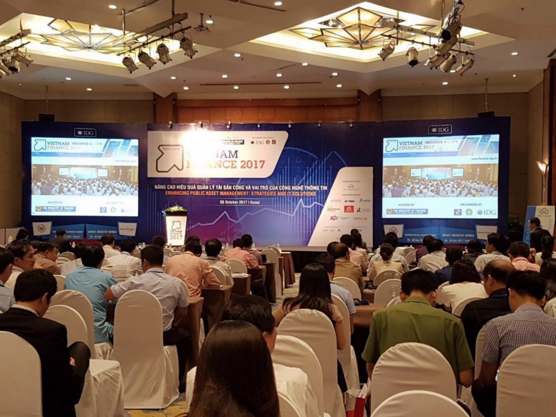 Hội thảo - Triển lãm Vietnam Finance 2018 tại Hà Nội