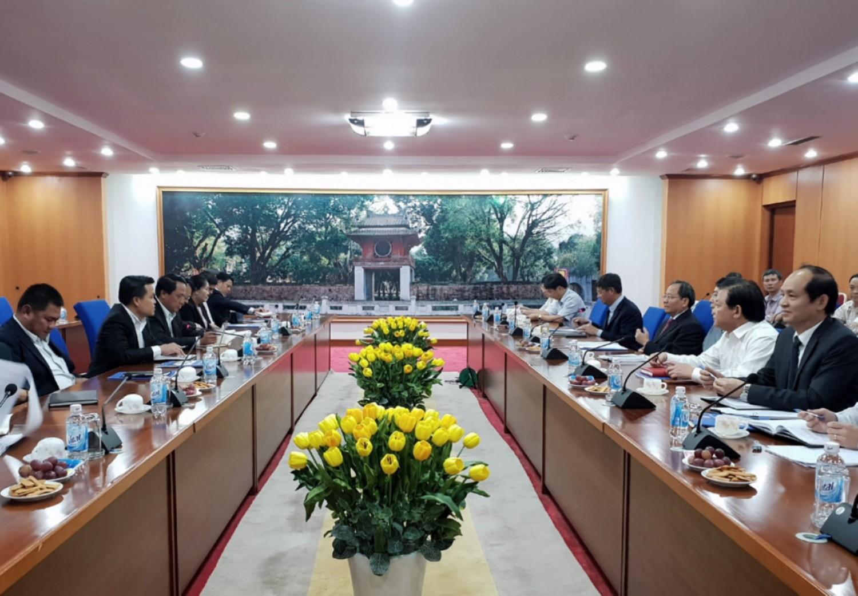 Bộ Tài chính Việt Nam và Bộ Tài chính Lào trao đổi kinh nghiệm trong lĩnh vực thanh tra tài chính
