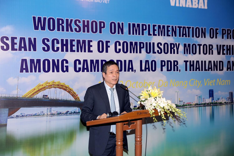 Tăng cường hợp tác với Thái Lan, Lào và Campuchia về bảo hiểm bắt buộc xe cơ giới