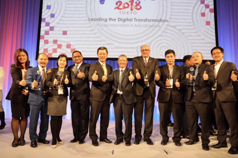 """Bộ Tài chính được trao giải thưởng """"Tổ chức ứng dụng công nghệ thông tin xuất sắc"""" tại ASOCIO 2018"""