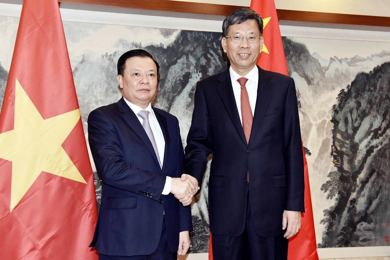 Tăng cường quan hệ hợp tác tài chính giữa Việt Nam và Trung Quốc